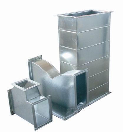 镀锌铁皮共板法兰风管
